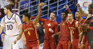 Iowa State at Kansas Betting