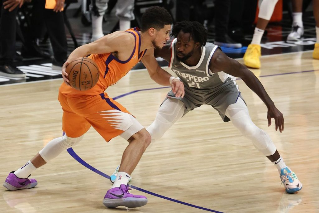 Suns vs Clippers Game 4
