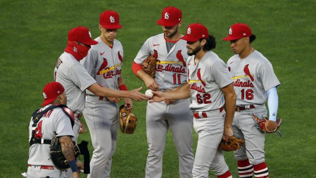 The Cardinals are getting ready to face the Rockies in a Friday showdown!