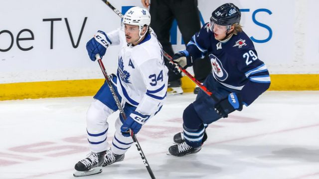 maple leafs vs jets